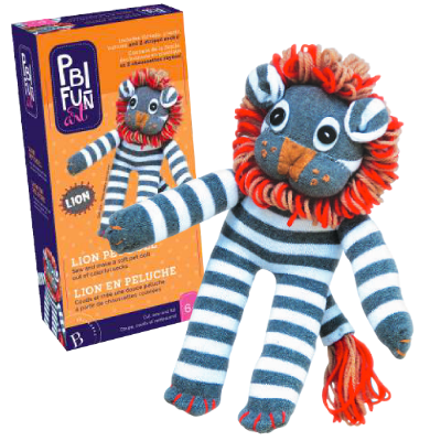 Pbi Fun Art Lion Pet Doll