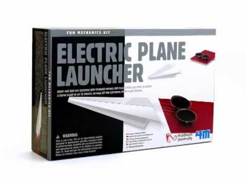 Electric Plane Launcher Kit (Eng/Fr)