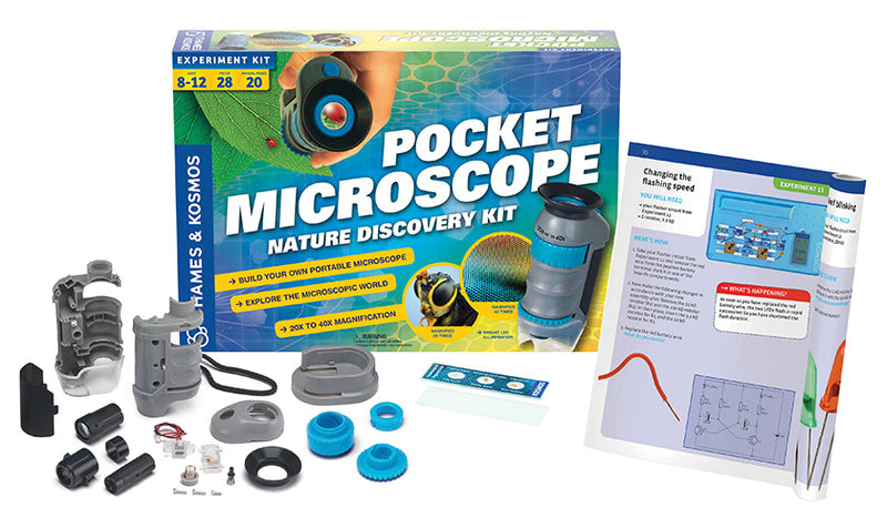 Pocket Microscope: Nature Discovery Kit