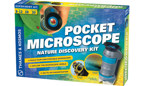 Pocket Microscope: Nature Discovery Kit (Eng/Fr)