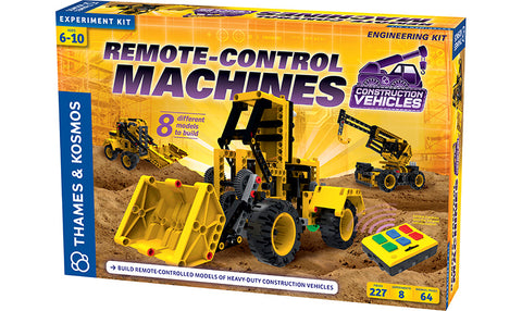 Remote-Control Machines: Construction Vehicles (Eng)