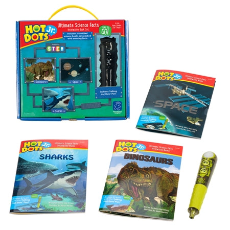 Hot Dots® Jr. Ultimate Science Facts Interactive Book Set