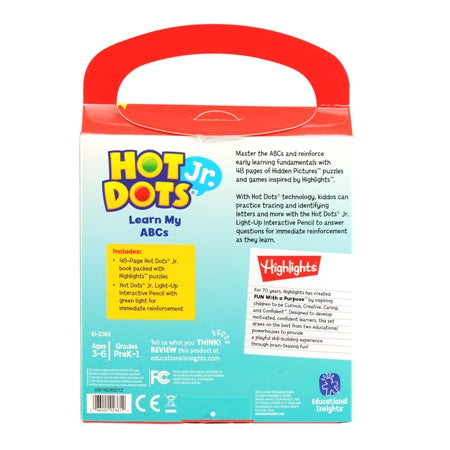 Hot Dots® Jr. Highlights™ On-The-Go! Learn My ABCs with Highlights™