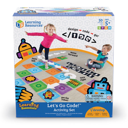 Let's Go Code!™ Activity Set (Eng)