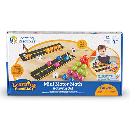 Mini Motor Math Activity Set