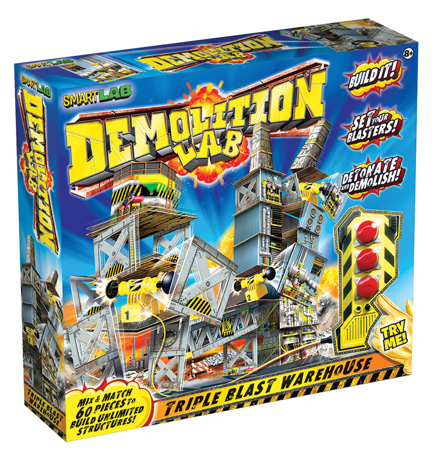 Demolition Lab: Triple Blast Warehouse