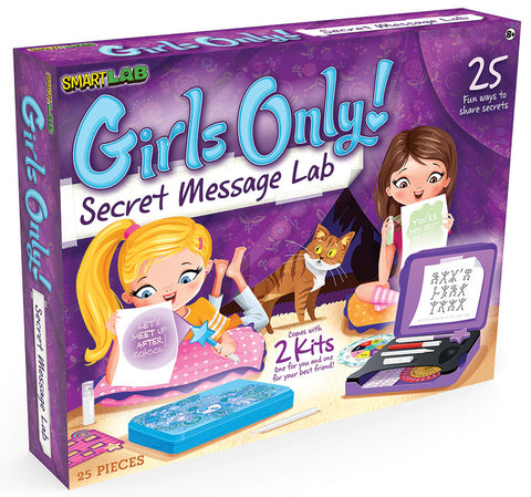 Girls Only Secret Message Lab (Eng)