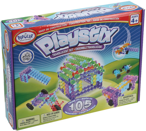 Playstix Translucent Set - 105pc (Bilingual)