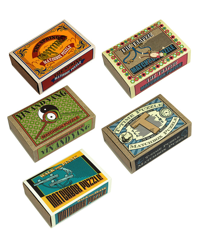 Matchbox Puzzles (Single)
