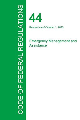 Code of Federal Regulations Title 44, Volume 1, October 1, 2015