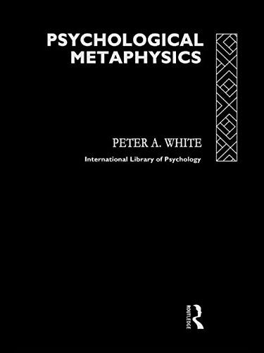 Psychological Metaphysics (Educational Management Series)