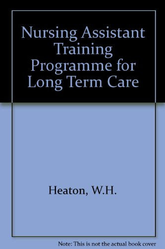 Nursing Assistant Training Program Student Text