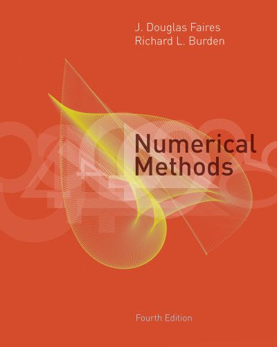 Bundle: Numerical Methods, 4th + Student Solutions Manual