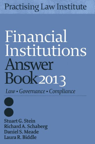 Financial Institutions Answer Book 2013