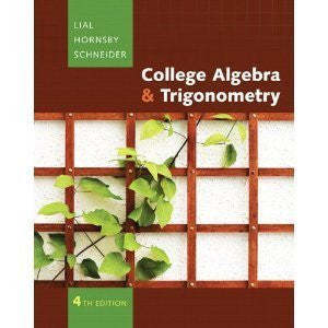 College Algebra and Trigonometry plus MyMathLab Student Access Kit (4th Edition) [Hardcover]