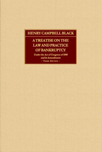 A Treatise on the Law And Practice of Bankruptcy
