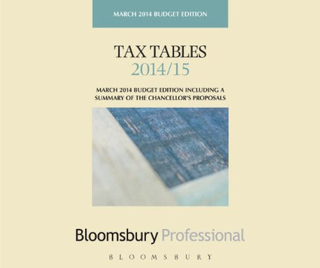 Tax Tables 2014/15