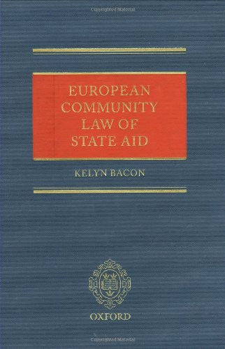 European Community Law of State Aid