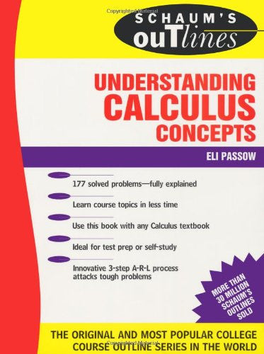 Schaum's Outline of Understanding Calculus Concepts