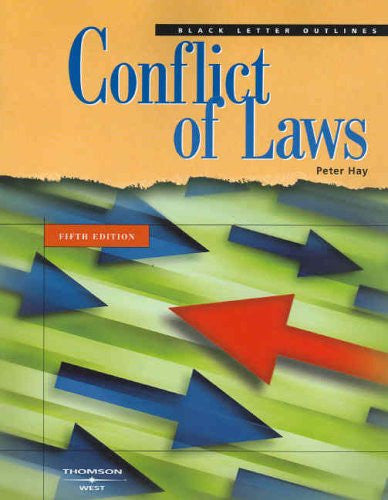 Black Letter on Conflict of Laws, Fifth Edition (Black Letter Outline)