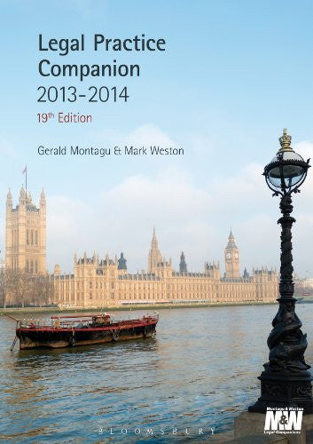 Legal Practice Companion 2013/14: Nineteenth Edition