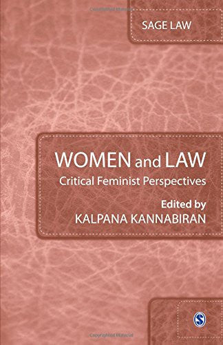 Women and Law: Critical Feminist Perspectives (SAGE Law)