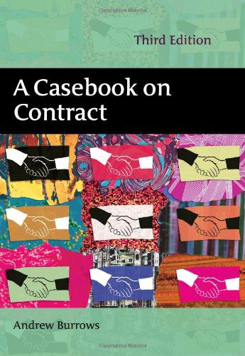 A Casebook on Contract: Third Edition
