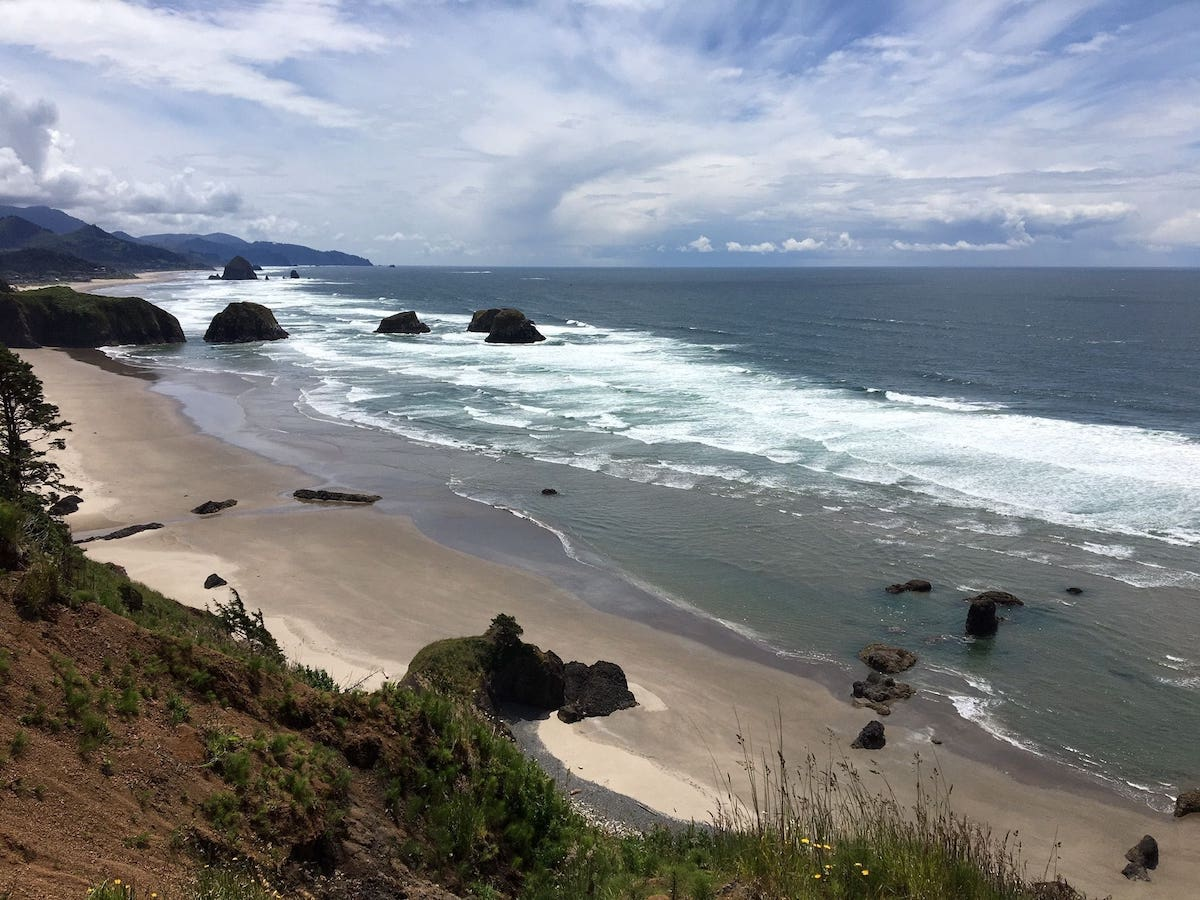 Crescent Beach Dog Friendly Hike on Oregon Coast