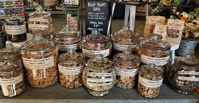 King Duke's bulk organic pet treats in Beaverton, Oregon