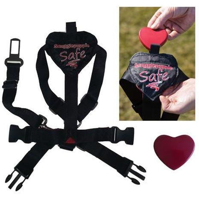 Animated Heart goes inside of Safety/Travel Harness