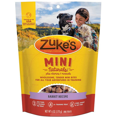 Zuke's Mini Naturals Rabbit 6 oz