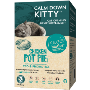 Calm Down Kitty - Calming Hemp Supplement for Cats
