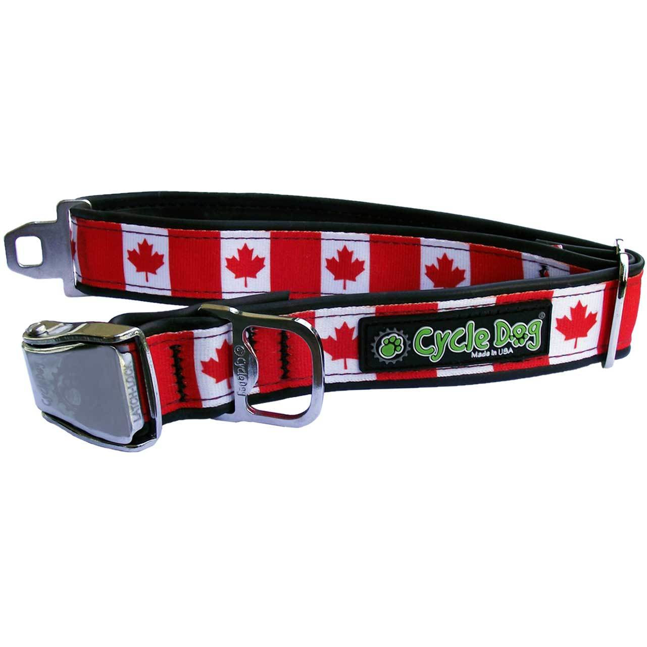 Cycle Dog Canada Maple Leaf Dog Collar
