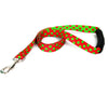 Yellow Dog Design EZ-Grip Holiday Christmas Polka Dot Dog Leash