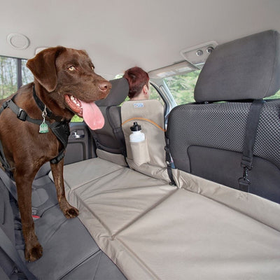 Kurgo Backseat Dog Bridge, Hampton Sand/Black