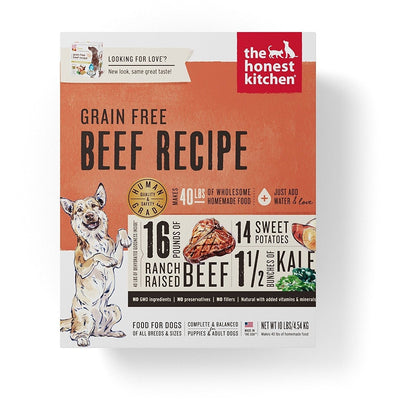 The Honest Kitchen Grain Free Beef Dehydrated Dog Food