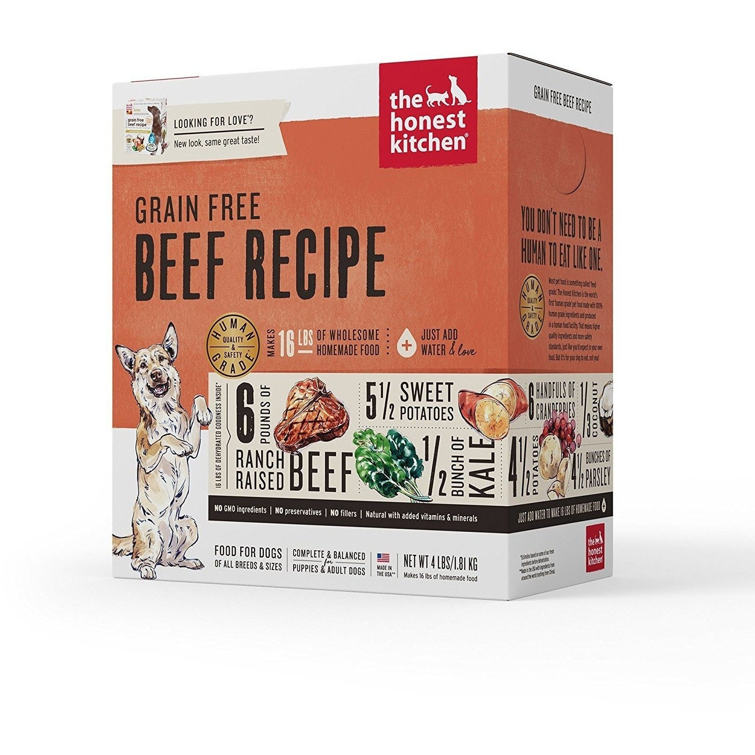 proper dog beef grain honest ac free dp the kitchen toppers food prevnext recipe
