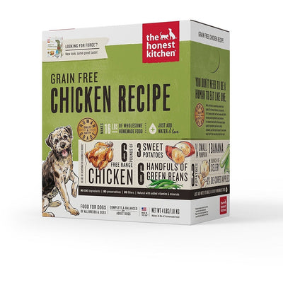 The Honest Kitchen Grain Free Chicken Dehydrated Dog Food