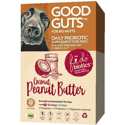 Good Guts for Big Mutts - Daily Probiotic Supplement For Dogs