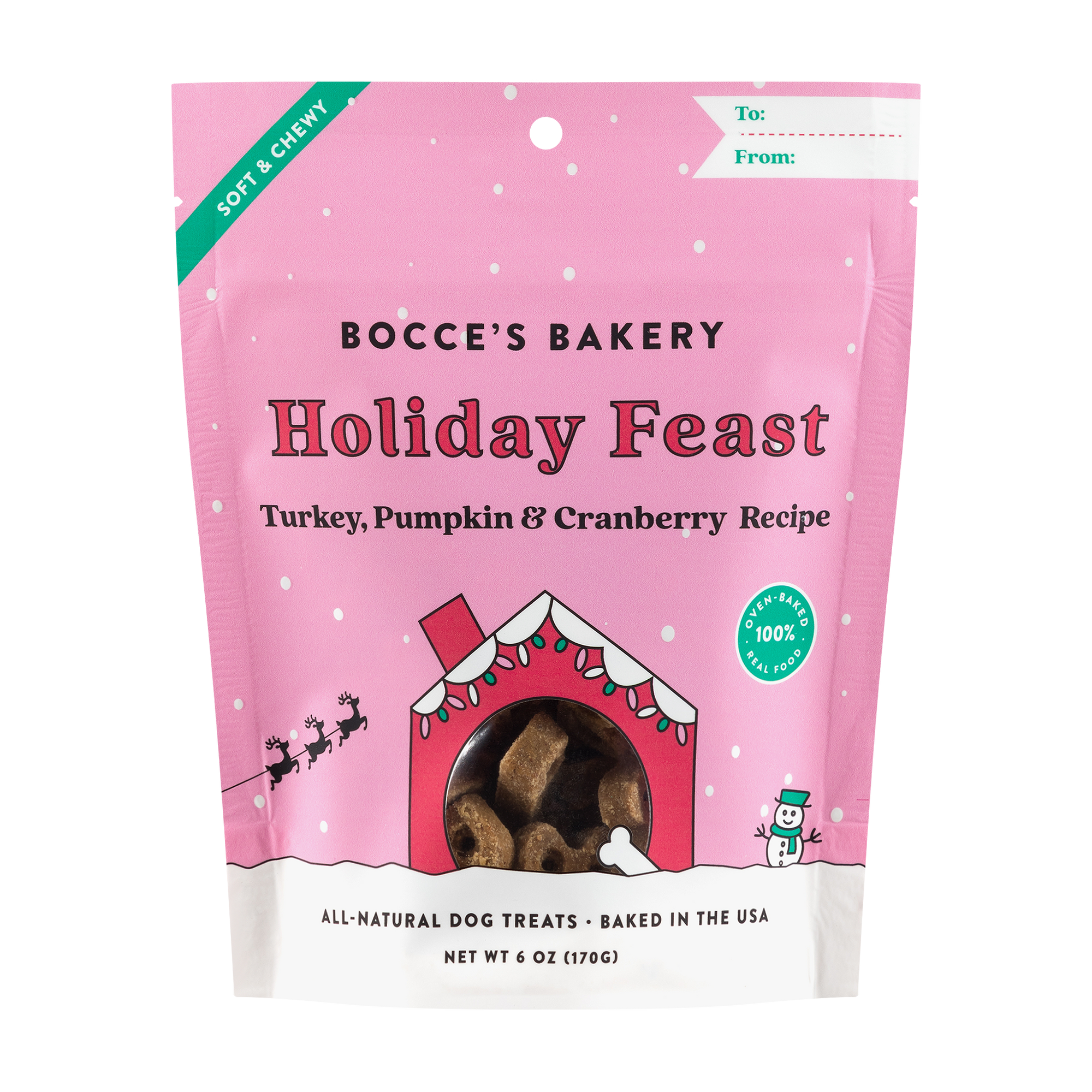Bocce's Bakery - Holiday Feast Treats