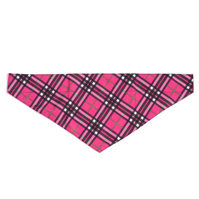 The Worthy Dog - Plaid Dog Bandanas