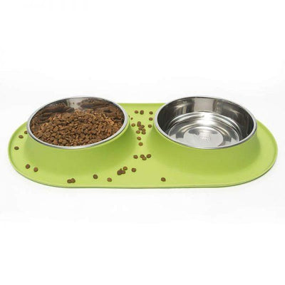 Messy Mutts Double Bowl Feeders