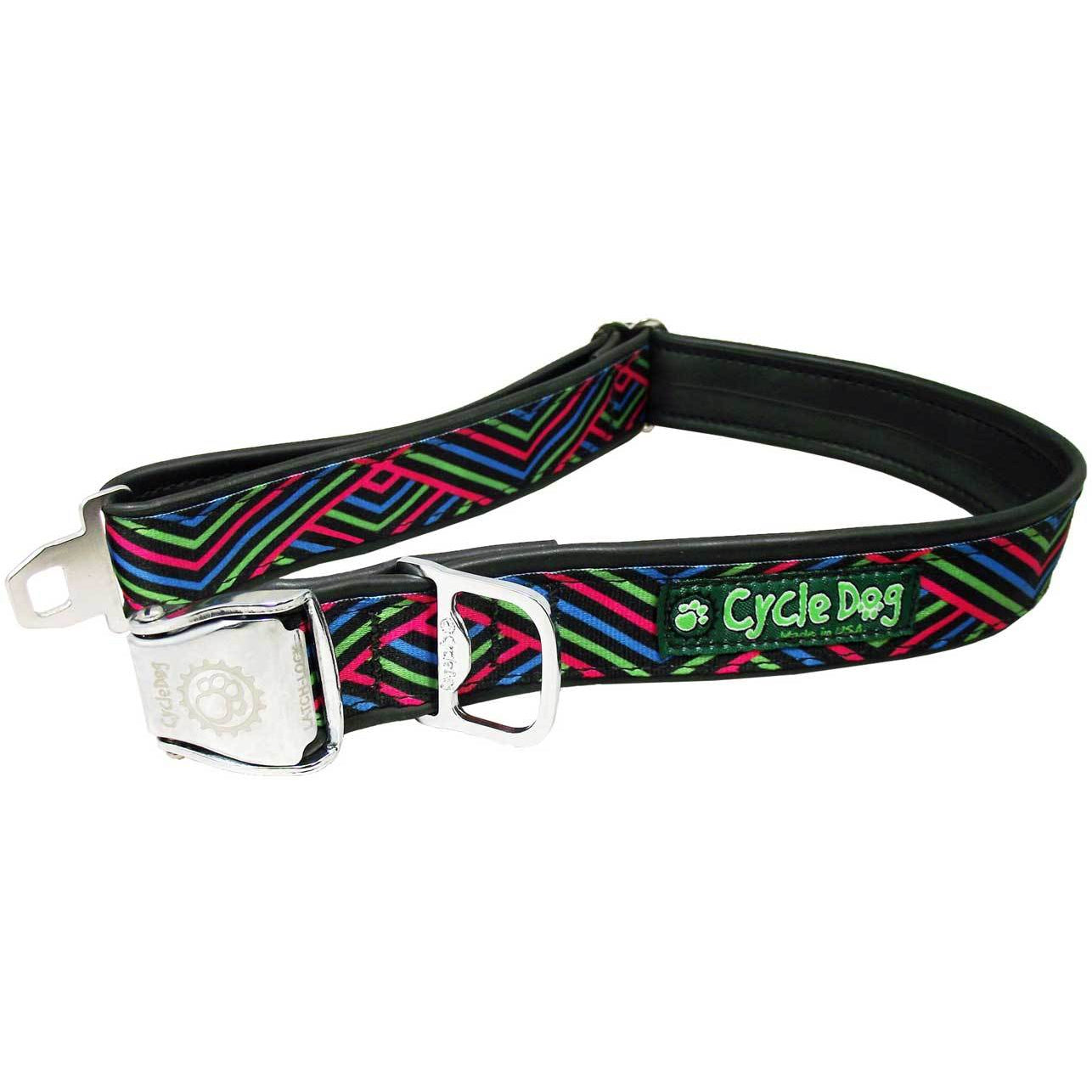 Cycle Dog Multi Diagonals Dog Collar