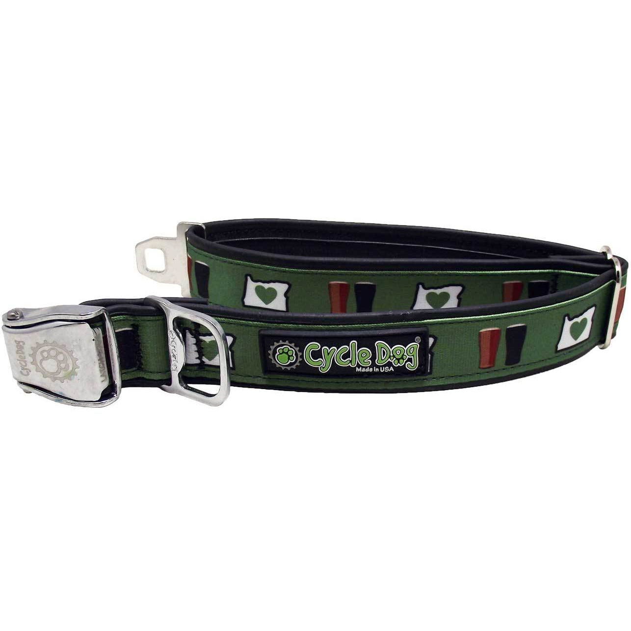 Cycle Dog Oregon Love Dog Collar