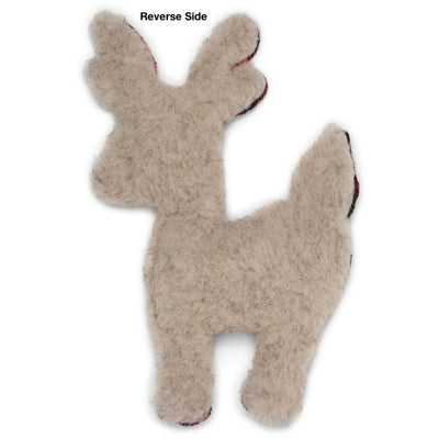 West Paw Design Plush Reindeer Toy