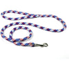Yellow Dog Design Red, White & Blue Rope Leash