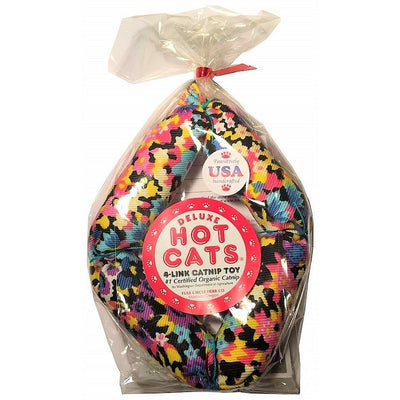 "Organic 16"" Sausage Catnip Toy by Hot Cats"