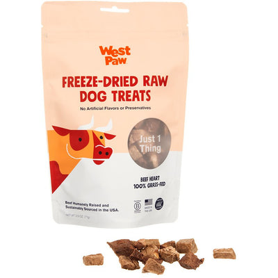 West Paw Freeze-Dried Treats - Beef Heart