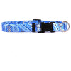 Bandana Blue Dog Collar by Yellow Dog Design