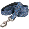 Yellow Dog Design EZ-Grip Blue Tweed Dog Leash